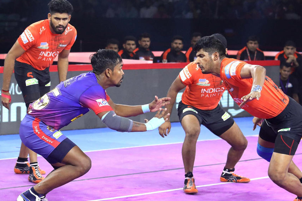 PKL 7: Naveen guides Delhi to thumping win over U Mumba - Sports News in Hindi