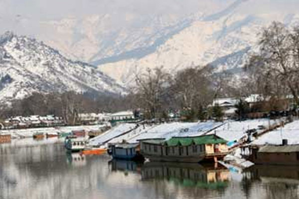 Relief from cold in Kashmir - Srinagar News in Hindi