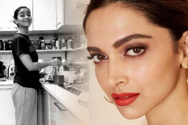 B-Towns kitchen capers in time of lockdown - Bollywood News in Hindi