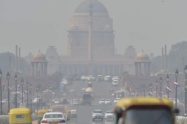 Delhi: AQI at 412 in severe very poor category  in Anand Vihar - Delhi News in Hindi