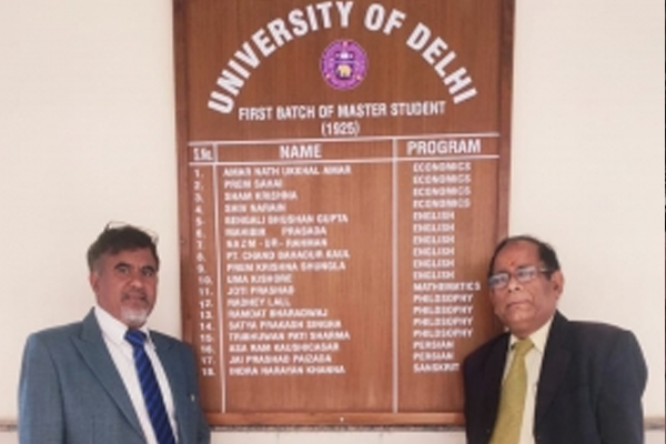 Delhi University new record, work is being done even at midnight - Delhi News in Hindi