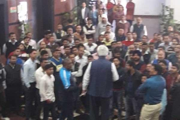 Delhi chief secretary allegedly assaulted, IAS association calls it a Constitutional crisis - Delhi News in Hindi