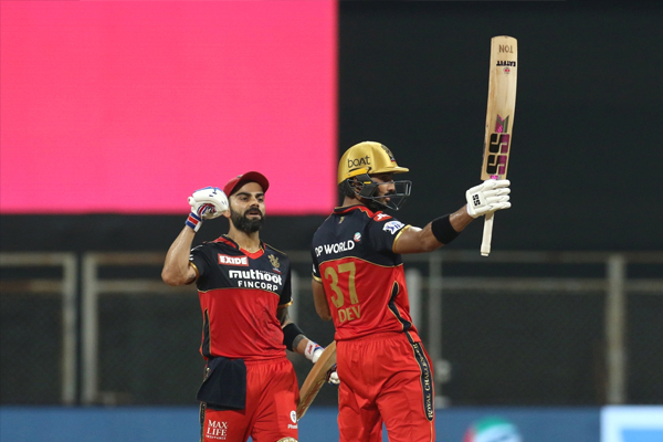 Padikkal, Kohli power RCB to 10-wicket win over RR - Cricket News in Hindi