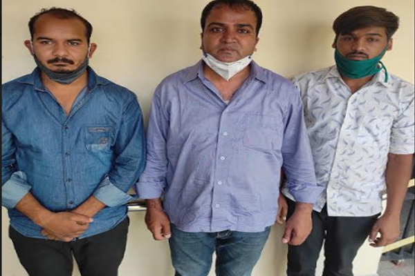 Doctor and two agents arrested for black marketing of Remedesivir injection in Jaipur - Jaipur News in Hindi