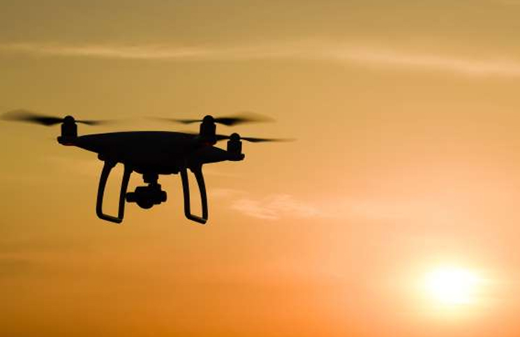 The drone of Pakistan was killed by the Indian Air Force - Bikaner News in Hindi