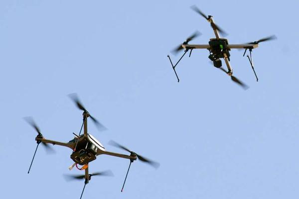 Ferozepur :Pakistani 2 drones enter Indian border - Firozpur News in Hindi