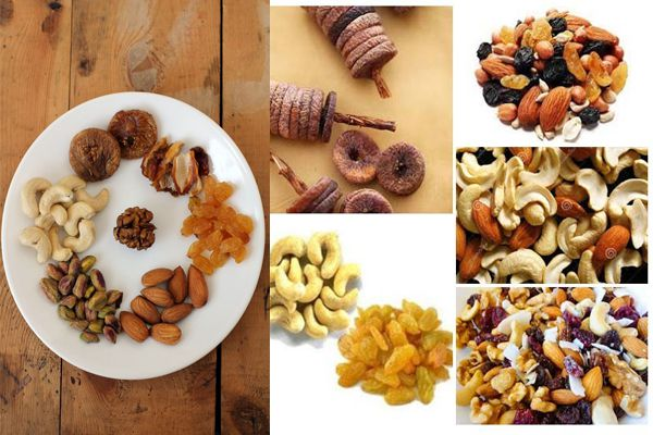 Health benefits of dry fruits - Home Remedies in Hindi