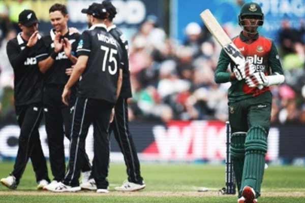 Dunedin ODI: New Zealand beat Bangladesh by 8 wickets - Cricket News in Hindi
