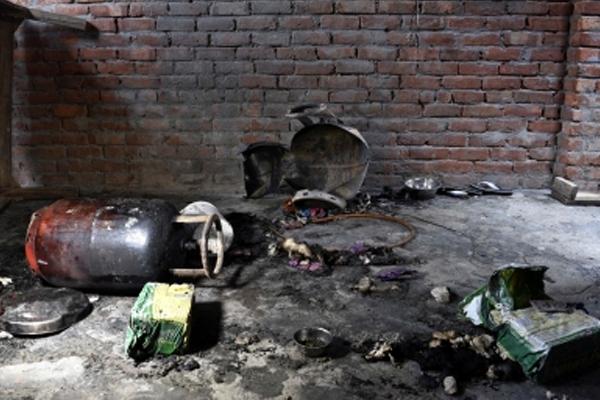 उत्तर प्रदेश के गोंडा में सिलेंडर फटने से आठ की मौत, सात घायल