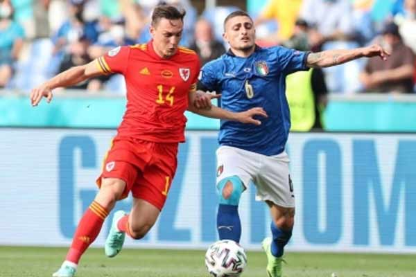 Euro 2020: Italy beat Wales 1-0, but both sides into last 16. - Football News in Hindi