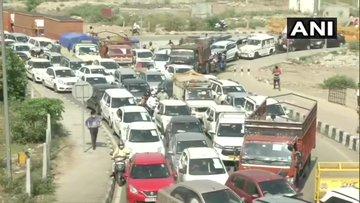 Ghaziabad: Traffic movement between Delhi-Ghaziabad has been completely prohibited - Ghaziabad News in Hindi