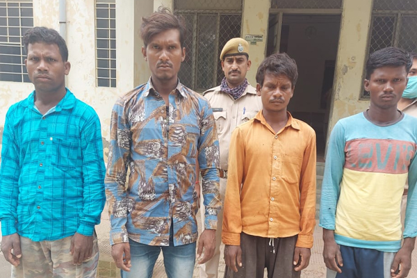 Exposure to murder of security personnel in Jaipur, four arrested - Jaipur News in Hindi