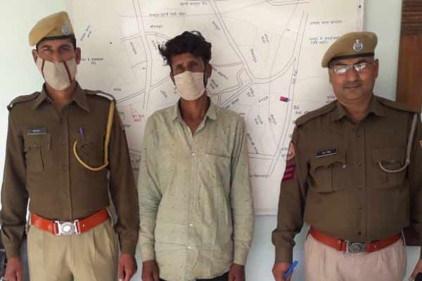 Father left loveless in Jaipur in search of girlfriend - Jaipur News in Hindi