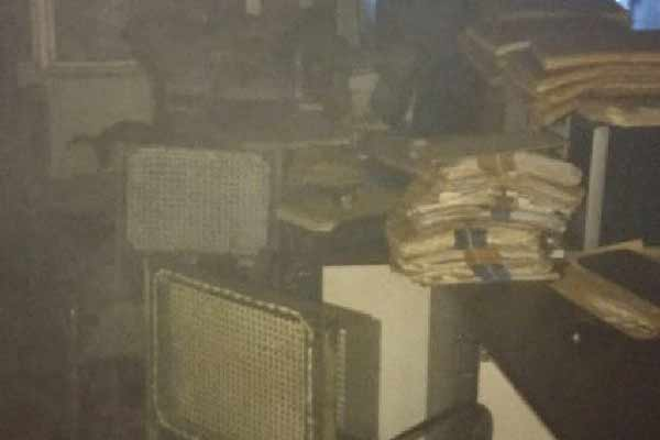 जयपुर में खनिज भवन में लगी आग, कई फाईलें व रिकॉर्ड जला