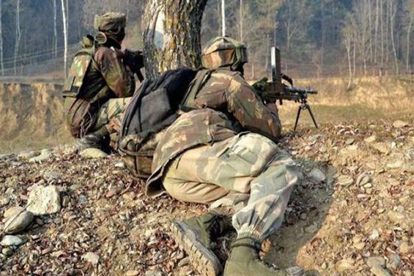 Encounter underway between troops & militants in Kashmir - Srinagar News in Hindi
