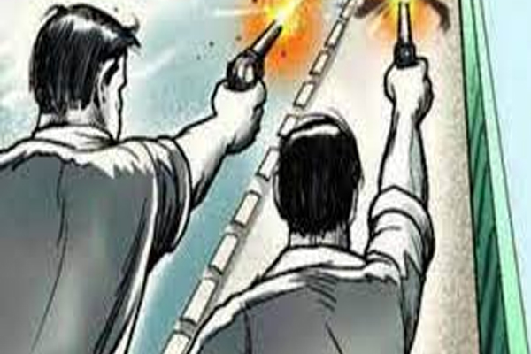 Firing on a young man in a dispute in Jaipur, narrowly saved his life - Jaipur News in Hindi