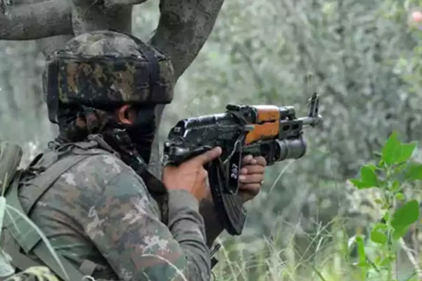 Jammu and Kashmir: Two terrorists killed in an encounter with security forces - Srinagar News in Hindi