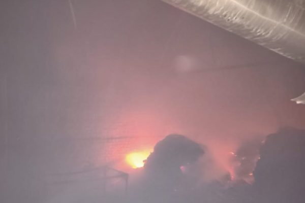 Five firefighters caught in panic due to fire in plywood factory in Chaumun, Jaipur - Jaipur News in Hindi