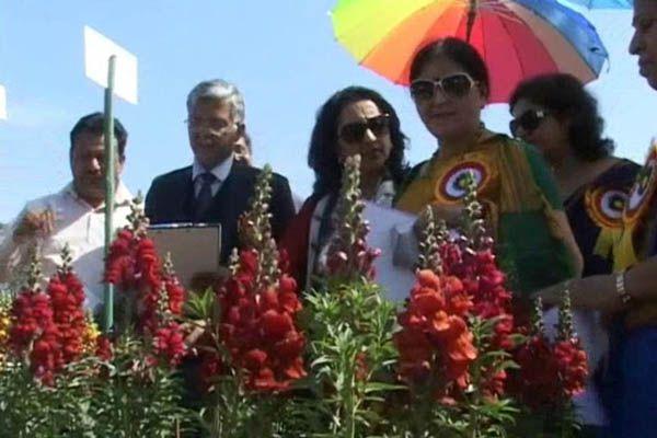 Northern Railway Ambala Division took 63 rd Flower Exhibition - Ambala News in Hindi