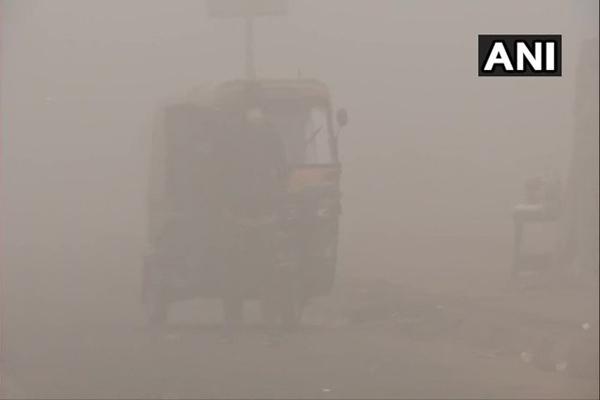 Dense fog affected life in Jammu and Kashmir - Srinagar News in Hindi