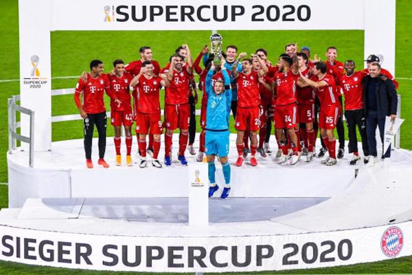 Football Bayern won Super Cup by defeating Dartmond - Football News in Hindi