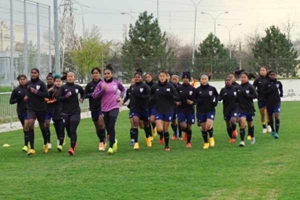 फुटबॉल : बेलारूस के खिलाफ मुकाबले से वापसी करने उतरेगी भारतीय महिला टीम