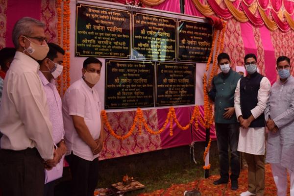 वन मंत्री ने धर्मशाला में रखी 1.66 करोड़ रुपये की परियोजनाओं की आधारशिला