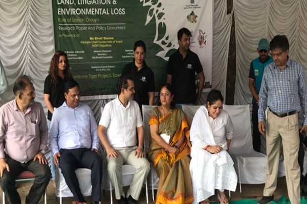 Organized Lands Litigation and Environment Law Panel Discussion - Jaipur News in Hindi
