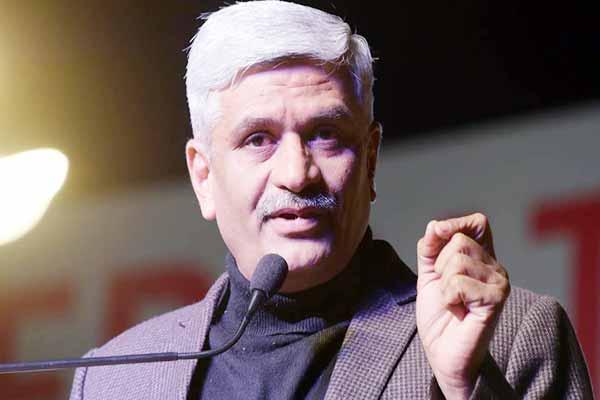 jaipur news : Jodhpur Lok Sabha MP gajendra singh shekhawat become Rajasthan BJP state president - Jaipur News in Hindi
