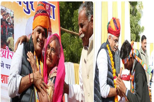 Union minister Gajendra Singh Shekhawat gives confidence - Jodhpur News in Hindi