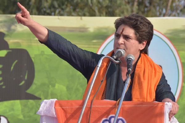 Priyanka will address farmers in Muzaffarnagar, Congress engaged in cashing in on opposition to agricultural laws - Muzaffarnagar News in Hindi