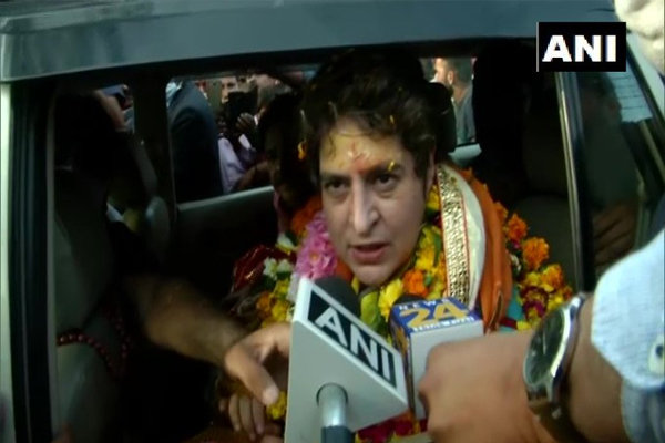 Priyanka taunt on BJPSave Govardhan Parvat government bench give it somewhere - Lucknow News in Hindi