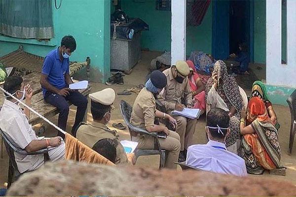 हाथरस मामले के आरोपियों को ब्रेन-मैपिंग और पॉलीग्राफ टेस्ट के लिए गांधीनगर एफएसएल लाया गया