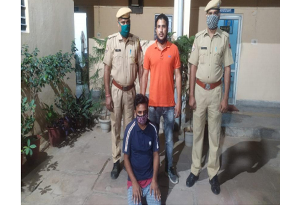Ganja caught in large quantity in Jaipur, one arrested - Jaipur News in Hindi
