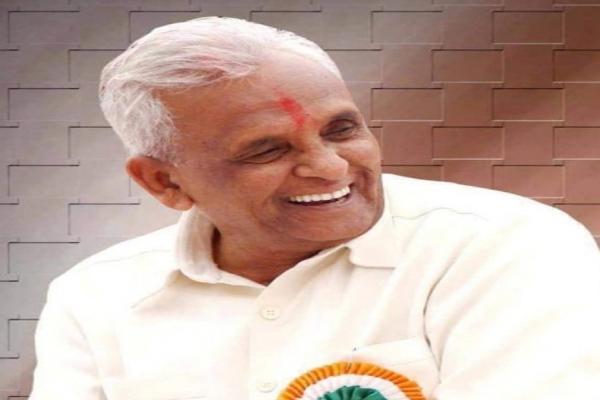 11-time Maharashtra MLA Ganpatrao Deshmukh dies at the age of 95 - Mumbai News in Hindi