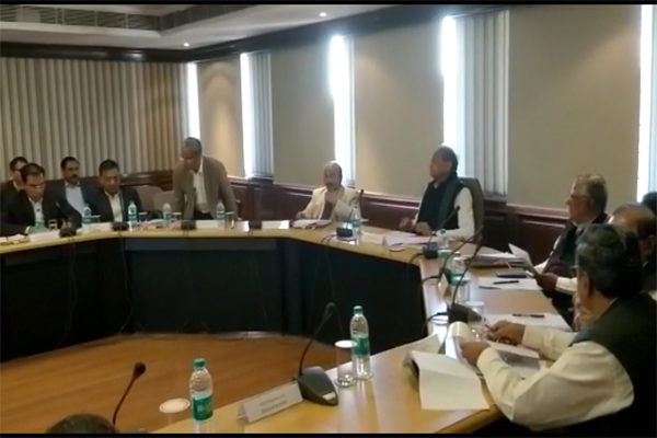 Meeting of State Disaster Management Authority in CMO - Jaipur News in Hindi