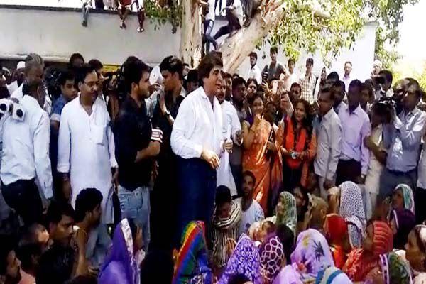 Raj Babbar attack on law and order in ghaziabad - Ghaziabad News in Hindi