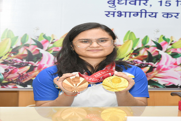 Avni struggle behind the gleam of gold is a source of inspiration for all - Jaipur News in Hindi