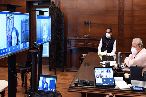 Governor took special online review meeting of West Zone Cultural Center - Jaipur News in Hindi