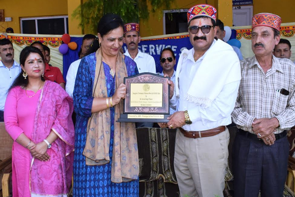 Science section of KAIS school to be built with 1.66 crore: Govind Thakur - Kullu News in Hindi