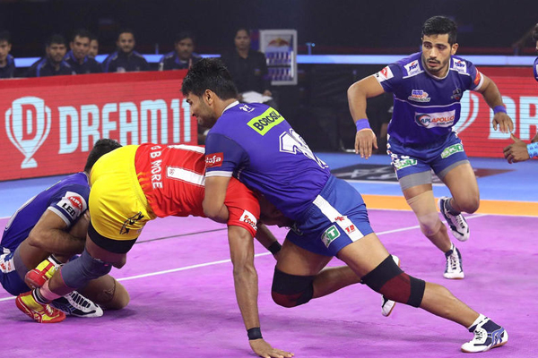 PKL 7: Haryana in third place with a hat-trick of victory - Sports News in Hindi