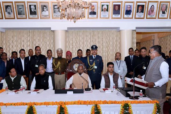 Gulabchand Kataria took oath - Jaipur News in Hindi