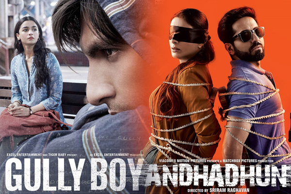 Gully Boy, Andhadhun up for honours at Melbourne - Bollywood News in Hindi