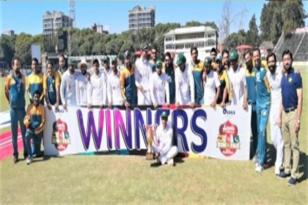 Harare Test: Pakistan beat Zimbabwe by an innings and 147 runs - Cricket News in Hindi