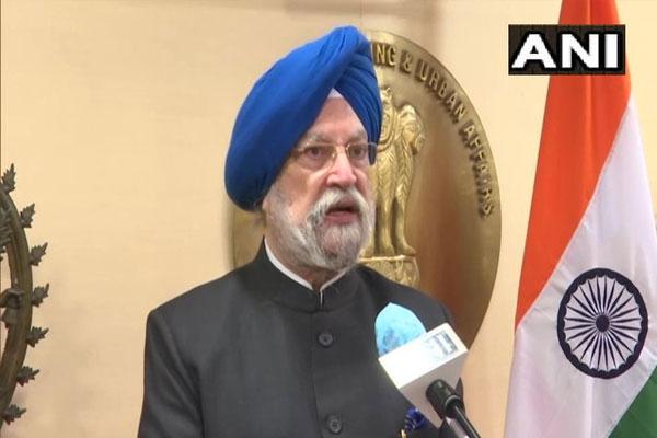Temporary stay on all flights from Britain till 31 December: Hardeep Singh Puri - Delhi News in Hindi