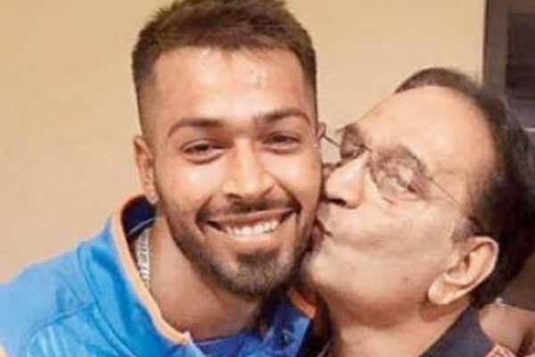 Hardik Pandya father dies due to heart attack - Cricket News in Hindi