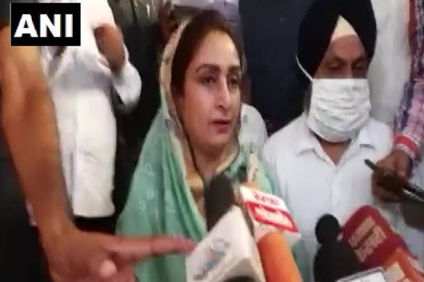 Harsimrat bid on agricultural bill - I have resigned so I have lost nothing, farmers have come to the center - Amritsar News in Hindi