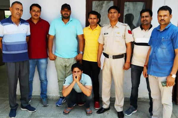अपराधी की धरपकड़ के लिए चलाई जा रही मुहीम अंतर्गत मोस्टवांडेट अपराधी गिरफ्तार