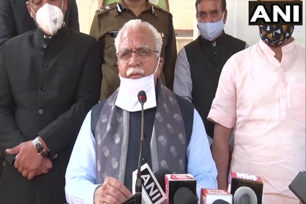 Farmers of Haryana did not participate in the movement - CM Manohar Lal - Chandigarh News in Hindi