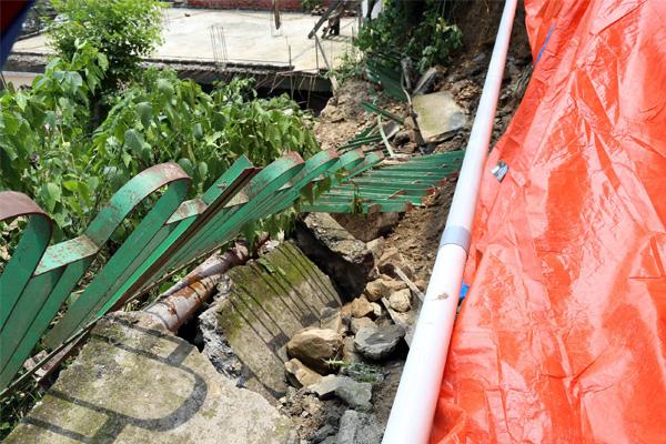 Rain erupted in Ramnagar town of Mandi city, Night out of home - Mandi News in Hindi